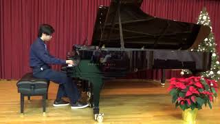 Luke Hu - Qian Yoyo Liu Piano Studio 2017 Winter Recital