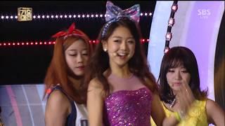 레이디스 코드 (LADIES' CODE) - 예뻐 예뻐 (SBS 가요대전 2013.12.29)