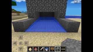 how to make an automatic chiken egg farm in minecraft pe