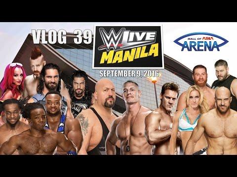 VLOG 39: WWE MANILA 2016 [1 Hour Special]