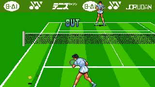 Date Kimiko no Virtual Tennis Japan FROM SNES SUPER NES HYPERSPIN NOT MINE VIDEOS