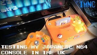 Using a Japanese N64 in the UK | IMNC