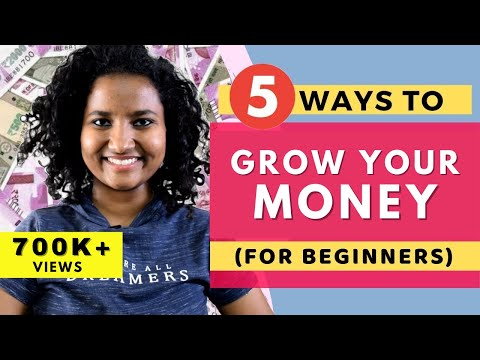 5 Basic Ways to Grow Money in 2021 (For Beginners)