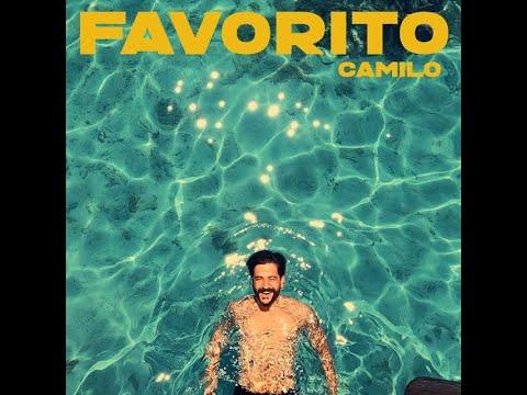 Camilo – Favorito (Video Lyric / LETRA) OFICIAL