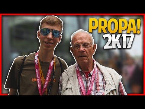 ICH habe PROPA getroffen!!   Gamescom & Videodays 2017 (Aftermovie)
