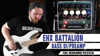 ELECTRO-HARMONIX Battalion Bass DI/Preamp - The Gear Gods Review