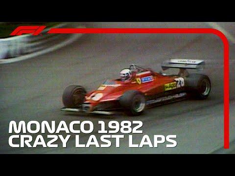 Crazy Final Three Laps In Monaco! | 1982 Monaco Grand Prix