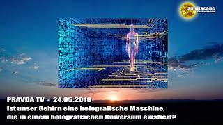 Ist unser Gehirn eine holografische Maschine, die in einem holografischen Universum existiert?