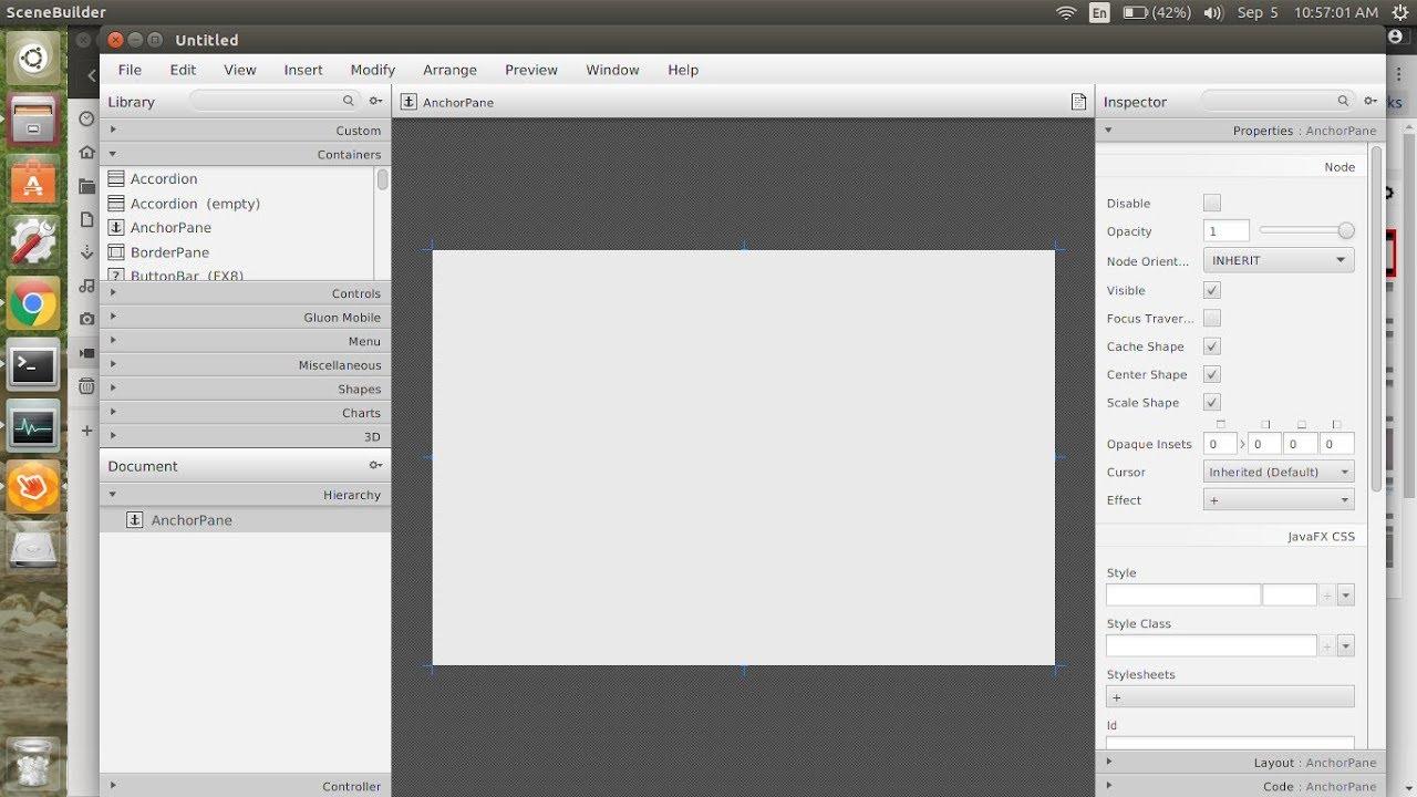 install scene builder ubuntu