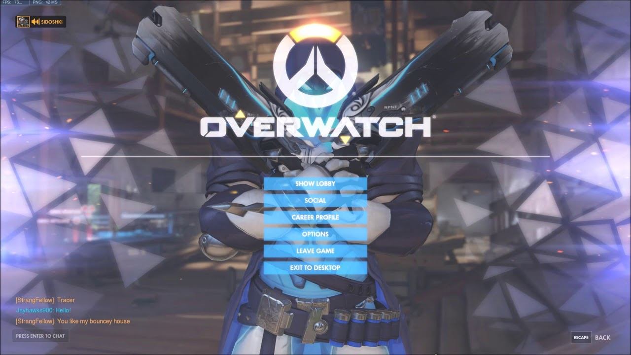 how to match chat overwatch