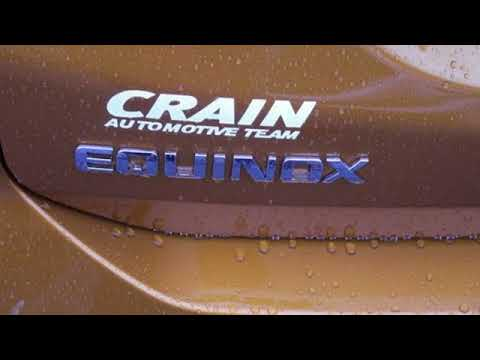 New 2018 Chevrolet Equinox Little Rock AR Bryant, AR #8CT7190   SOLD. Crain  Chevrolet