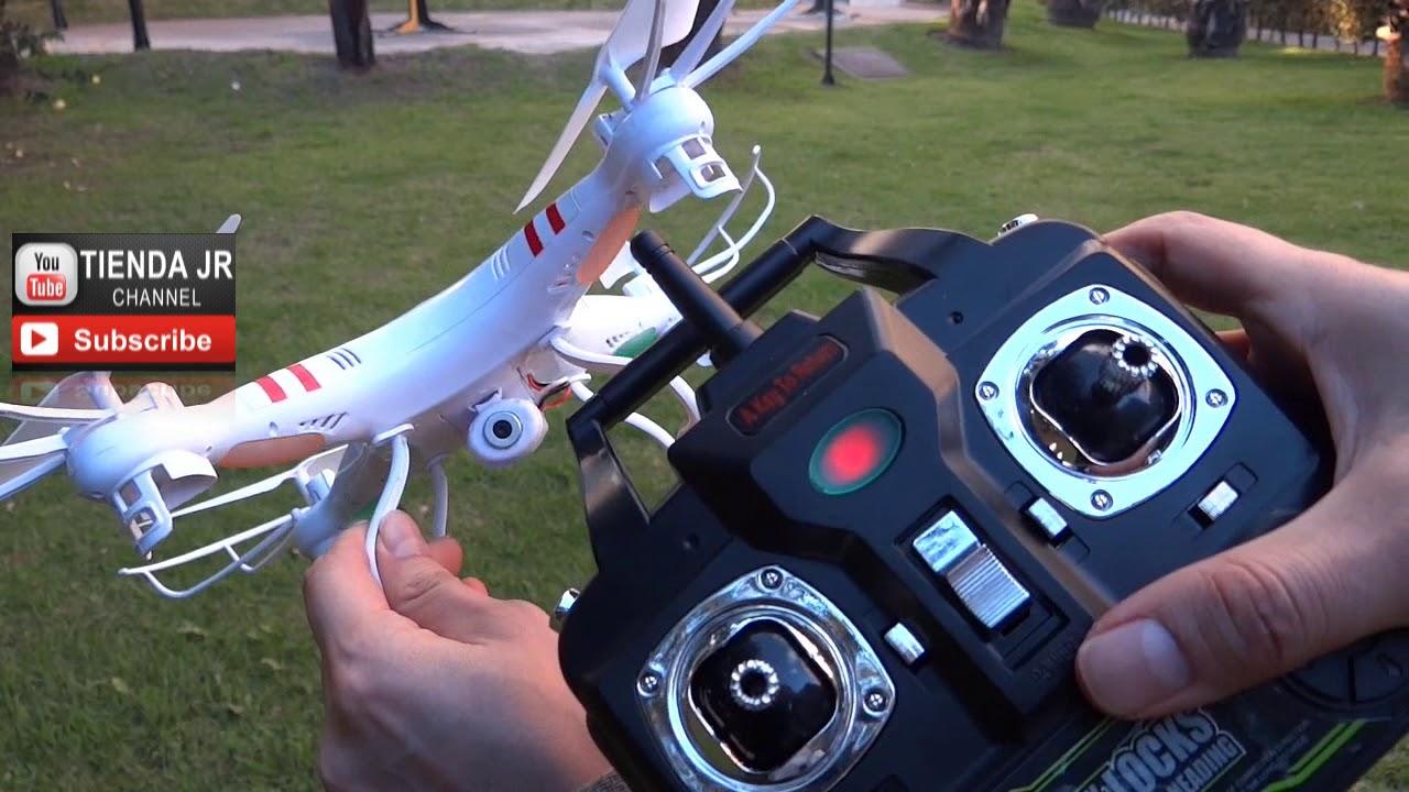 Dron Con Camara Hd Video Con Sonido Quadricoptero De 6 Canales 2.4Ghz + SD 2GB