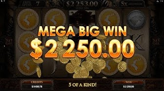 MEGA BIG WIN on Game Of Thrones slot - $3 Bet