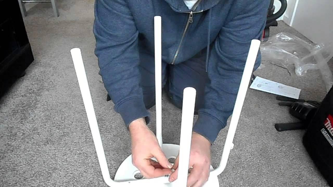 Flat Pack Furniture Assembly Ikea Marius Stool Youtube