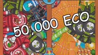 Bloons TD Battles - HOW LONG CAN WE SURVIVE?- 50,000 ECO!