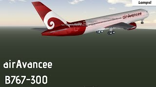 ROBLOX | airAvancee B767-300 Flight