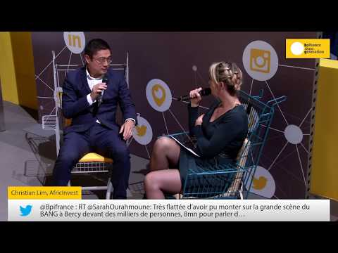 Chrisitian Lim interview at the BPI Inno Generation conference on 12 October, Paris