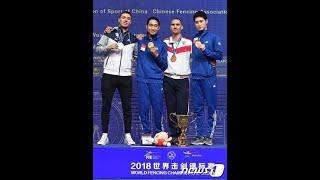 男子サーブル個人戦で韓国勢が金・銅を獲得=フェンシング世界選手権 (7/23)
