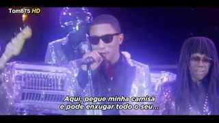 Daft Punk ft. Pharrell Williams - Lose Yourself To Dance [Legendado / Traduzido] (Clipe Oficial)