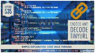Encode And Decode TinyURL - LeetCode 535