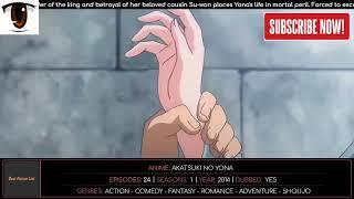 Fantasy/Romance Anime Top 10 Action