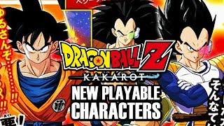 NEW Dragon Ball Z: Kakarot PLAYABLE CHARACTERS! DBZ Kakarot Vegeta, Gohan, Piccolo Playable LEAKS