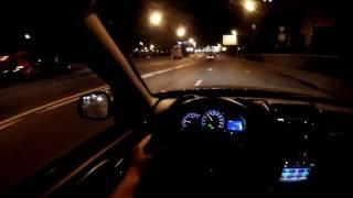 Renault Duster - болтовня в ночном  движении (60p)