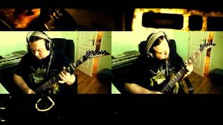 Cattle Decapitation - Kingdom Of Tyrants (Guitar cover by ear)