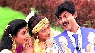 Ghallu Ghallu Gajje Full Video Song || Subhalagnam Movie || Jagapathi Babu,Roja