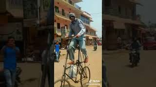 Invention brand new cycle made in india 😆😆