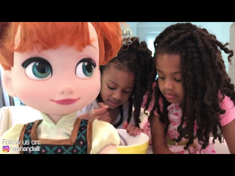 Elsa & Anna Toddlers  Little Anna Afraid of Bully  -  Come Play with Toys and Me