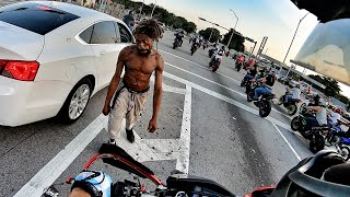 MIAMI BIKE LIFE MEET! CRAZY PEOPLE!