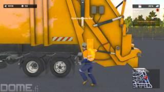 Cityconomy PC Gameplay #01 Driving Trash