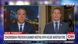 Rep. Swalwell on CNN discussing Jared Kushner's testimony to Senate and House