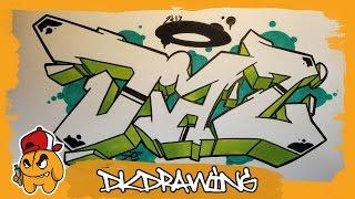 Download Video Graffiti Tutorial - How to draw graffiti names - Diaz #32 MP3 3GP MP4