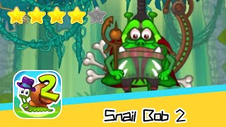 Snail Bob 2 Island Story 25 Walkthrough Play levels and build areas! Recommend index four stars