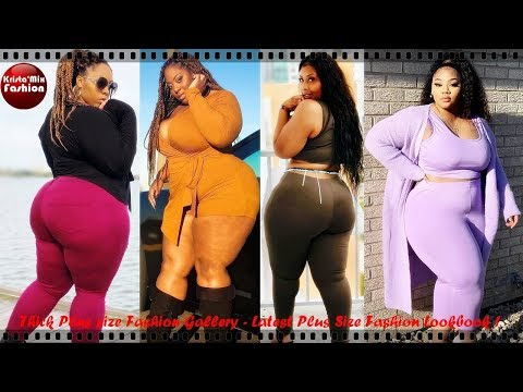Thick Plus size Fashion Gallery – Latest Fashion Look book V1#97