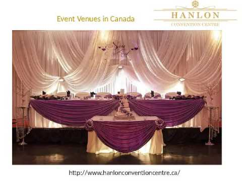 Convention Centre & Event Venues in canada