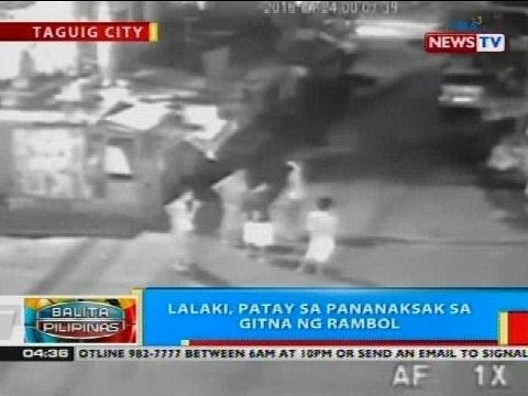 BP: Lalaki, patay sa pananaksak sa gitna ng rambol sa Taguig City