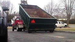 Delivering a 15 yard Rolloff. NJ Dumpster Rental Coppola Disposal