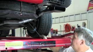 C4 Corvette Cutaway Off Road Exhaust