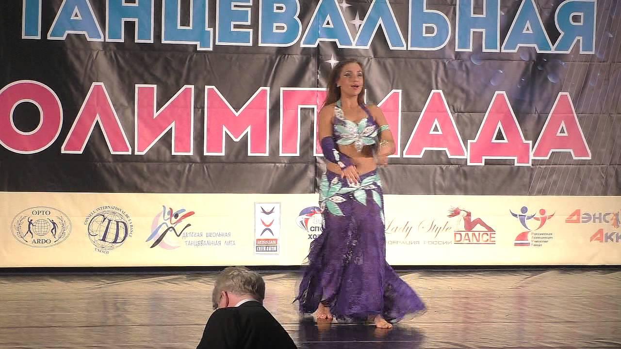 """Российская Танц.Олимпиада 2015. Конкурс """"Королева Oriental"""". Часть 1, имидж, хореография, техника"""