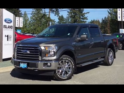 2017 ford f 150 xlt fx4 302a v6 ecoboost supercrew navigation review island ford youtube. Black Bedroom Furniture Sets. Home Design Ideas