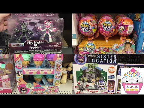 Toy Hunt #143 Five Nights at Freddy's Num Noms Pikmi Pops Grossery Gang Smooshy Mushy Roblox thumbnail