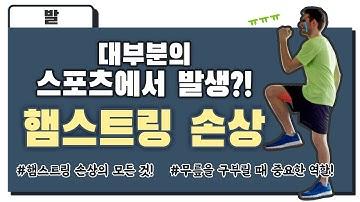 김진수 원장님이 알려주는 햄스트링 손상의 모든 것! |광진구 정형외과