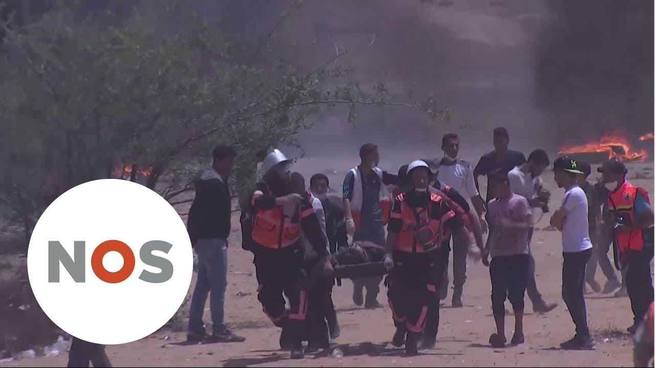 Download ISRAËL 70 JAAR: Massaal Palestijns protest bij Gaza-Israël