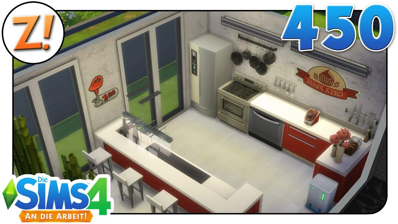 Sims 4 [An die Arbeit]: Kücheninsel mit ohne Palme #450 | Let\'s Play ...