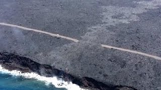 Lava From Hawaii's Kilauea Volcano Reaches Ocean