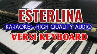 Karaoke Lagu Batak Esterlina D'Bellsing Trio. Lirik Berjalan, HQ Audio