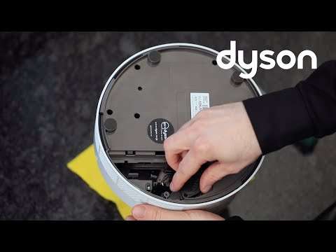 Dyson Humidifier - F1 fault code - replacing the piezo (US)